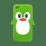 Penguin iPhone 4 / 4S Case (Green)