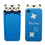 Super Cute Panda iPhone case (blue)