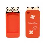 Super Cute Panda iPhone case (orange)