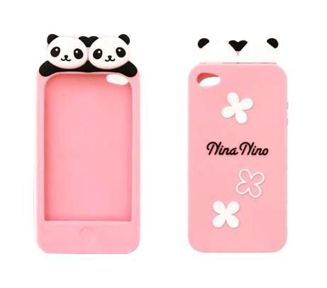 Super Cute Panda Iphone 4 Case Iphone 4 4s Kawaii Case