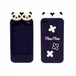 Super Cute Panda iPhone case (purple)
