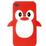 Penguin iPhone 4 / 4S Case (Red)