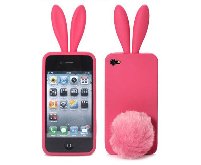 the latest 4ed26 a474f Bunny Ears iPhone 4 Case - iPhone 4 / 4S - Kawaii Case