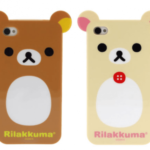 Rilakkuma and Korilakkuma iPhone 4 Case