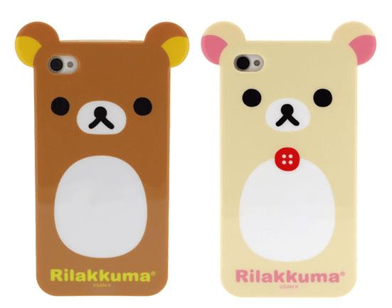 premium selection a476b cb059 Rilakkuma iPhone 4 Case - iPhone 4 / 4S - Kawaii Case