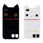 Kutusita Nyanko iPhone 4/4S Case