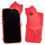 kiki iPhone 4 case (red / hot pink)