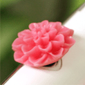 pink-flower-ear-cap