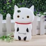 Kutusita nyanko 3D iPhone case white