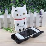 Kutusita nyanko 3D iPhone cases (2)