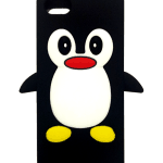 Cute Penguin iPhone 5 case (black)