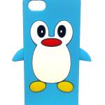 Penguin-iPhone-5-case-blue
