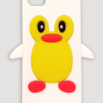 Cute Penguin iPhone 5 case (white)