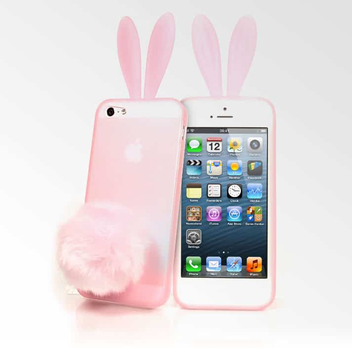 purchase cheap 62a6a fc841 Bunny Ears iPhone 5 Case - iPhone Cases - Kawaii Case