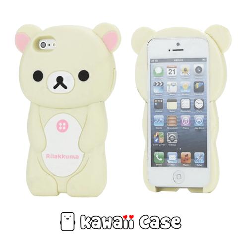 release date: cabbc f745a Rilakkuma 3D iPhone 5 Case - iPhone Cases - Kawaii Case