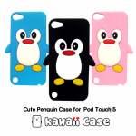 Cute Penguin Case for iPod Touch 5