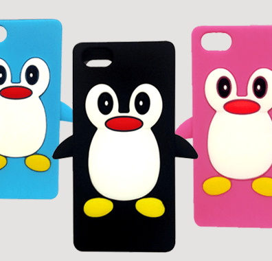Penguin Case For Iphone