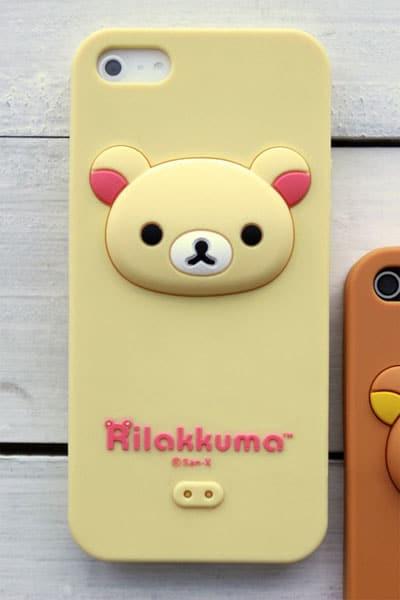 promo code 31d75 6e9a4 Soft Rilakkuma iPhone 5 Case - iPhone Cases - Kawaii Case