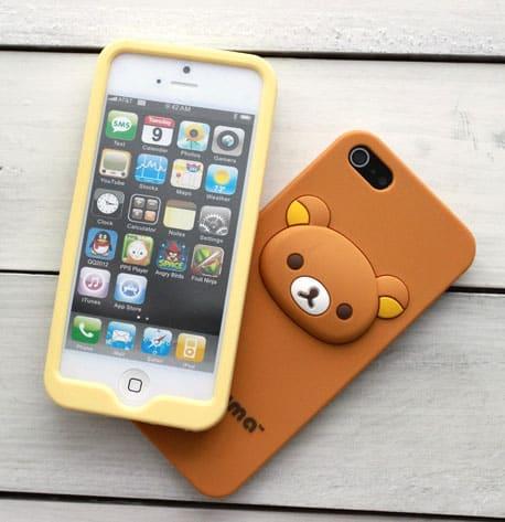 promo code 824b0 8be61 Soft Rilakkuma iPhone 5 Case - iPhone Cases - Kawaii Case