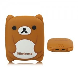 Rilakkuma portable battery charger pack for your mobile phone