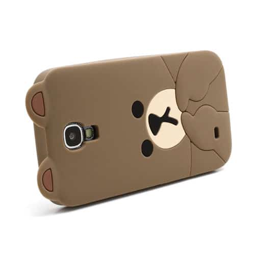 Browning Case For Galaxy s4 Cute Brown Bear Galaxy s4 Case