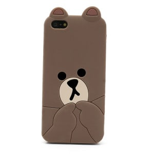 kawaii iphone 5 case brown iphone 4 5 iphone cases kawaii 15599