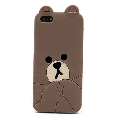 Arriving An Line Offline Cony Brown Phone Cases S 4 5 6 Plus Protective Big