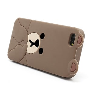 cute line brown bear iphone 5 case 4