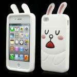 cute line cony rabbit iphone 4 case