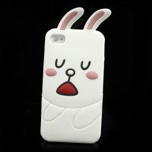 cute line cony rabbit iphone 4 case 2
