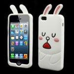cute line cony rabbit iphone 5 case