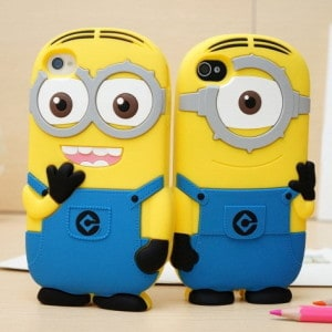 despicable me minion iphone 5 case feature