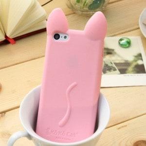 koko cat iphone 6 6 plus case kawaii - pink