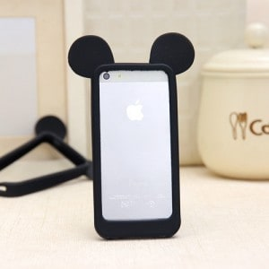 mickey mouse ears iphone 6 case black