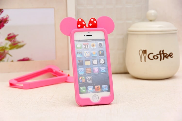 sale retailer 5c9a4 19180 Mickey Mouse Ears iPhone 6 Case - iPhone 6 / 6S - Kawaii Case