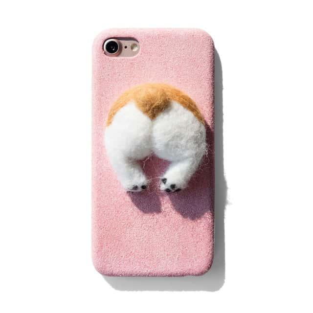 big sale b54c4 97709 Corgi Butt iPhone Case - iPhone 7 Plus - Kawaii Case