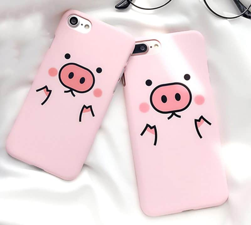 the latest 2f6b9 d16d0 Pink Piggy iPhone Case