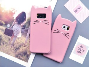 cat kitty whiskers kawaii cute samsung galaxy case s6 s7 s8 s9 feature 2