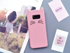 cat kitty whiskers kawaii cute samsung galaxy case s6 s7 s8 s9 feature 5