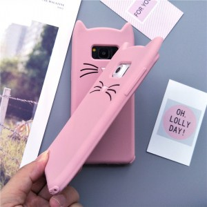 cat kitty whiskers kawaii cute samsung galaxy case s6 s7 s8 s9 feature 8