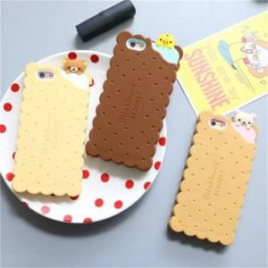 cookie biscuit cute kawaii rilakkuma iphone case 2