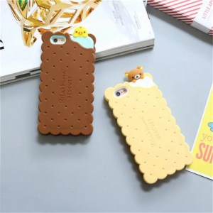 cookie biscuit cute kawaii rilakkuma iphone case 3