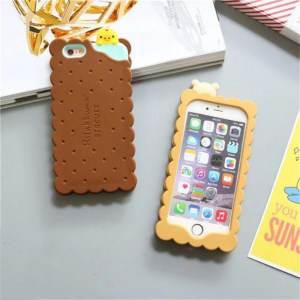cookie biscuit cute kawaii rilakkuma iphone case 5