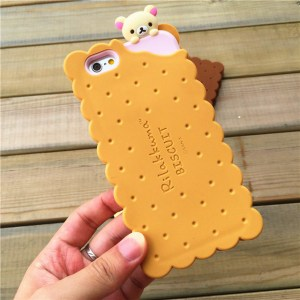 cookie biscuit cute kawaii rilakkuma iphone case korilakkuma feature