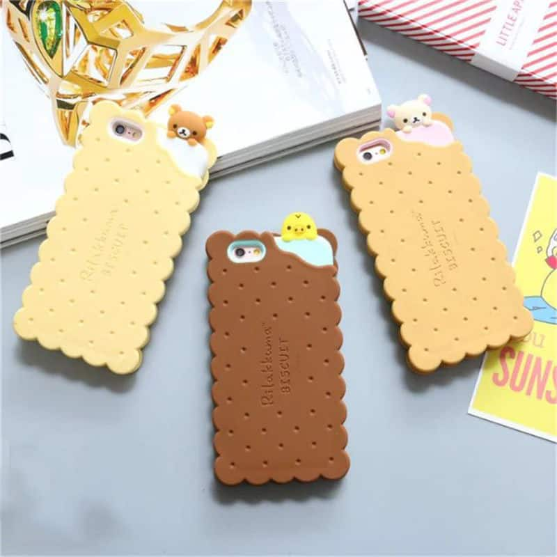 watch de85e 2d799 Cookie Sandwich Rilakkuma iPhone Case - iPhone 7 Plus - Kawaii Case