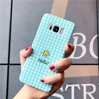 kawaii cute happy sun samsung phone case