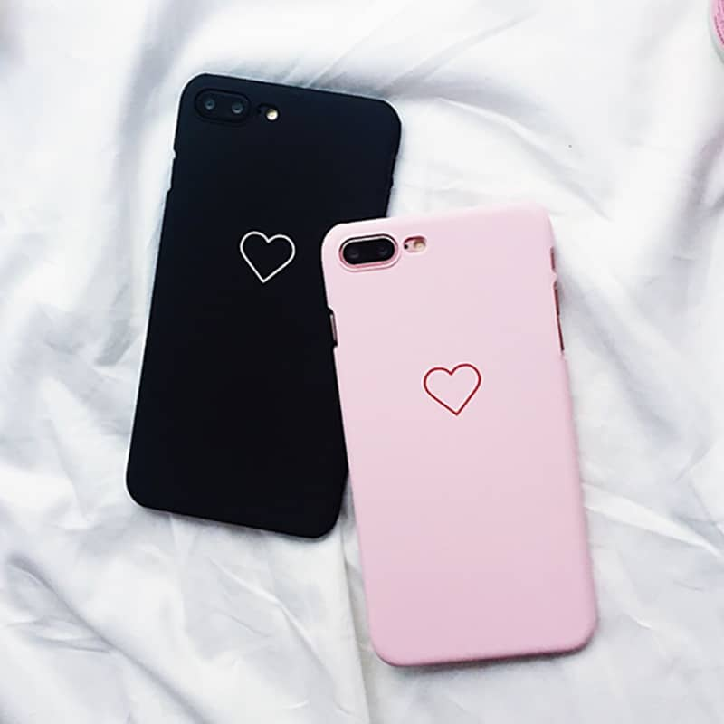 outlet store 1fda2 1c677 Simple Heart iPhone Case