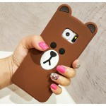 line brown bear kawaii cute samsung case