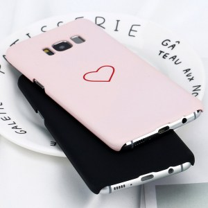 simple kawaii cute heart samsung galaxy case s7 s8 s9 note 8