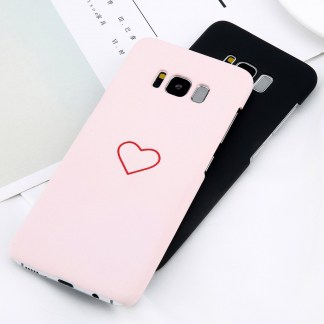 simple kawaii cute heart samsung galaxy case s7 s8 s9 note 8 feature 3